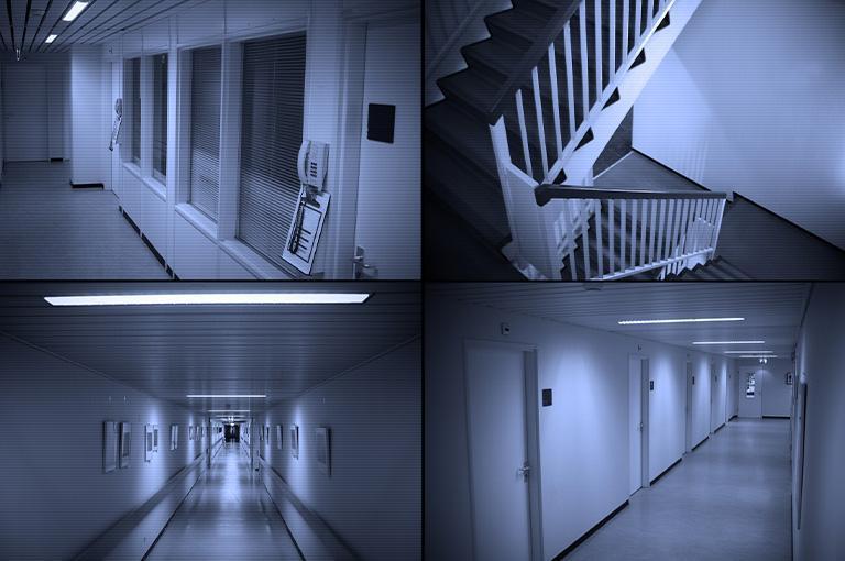 monitoring korytarzy